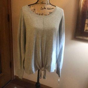 NWT grey sweater